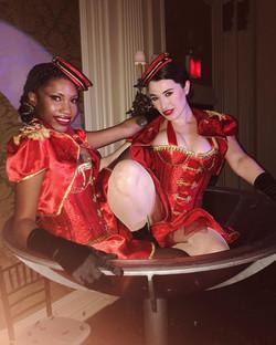 Champagne Glass Showgirls