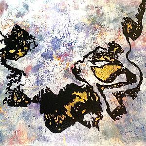 SYNAESTHESIA Acrylic on canvas 100 X 100 cm 