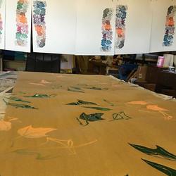Custom wrapping paper and poster paper #kupuaemolokai#custompaperprints#kukui#leihinahina#oneofakind
