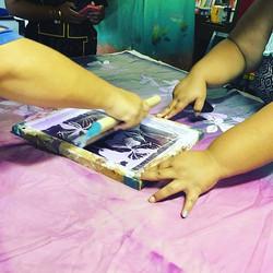 Custom works in the works!! #kupuaemolokai#oneofakind#silkscreen#awapuhi#whiteginger#custom#poni#mah
