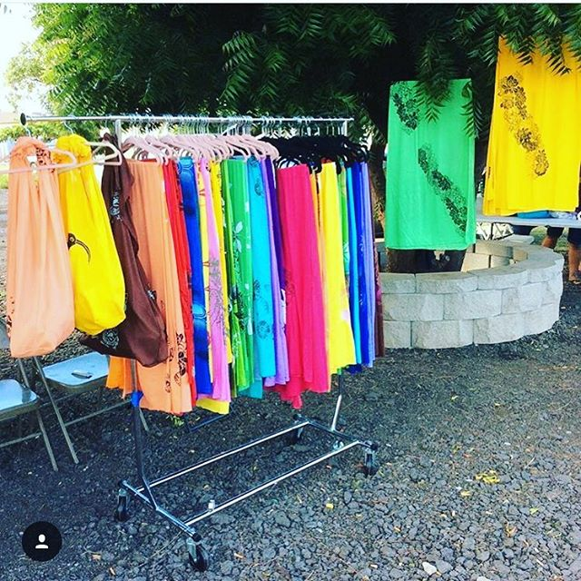 At the Kaunakakai Saturday Market today Hele Mai check out _kao_o_molokai mahalo!! #kupuaemolokai#sa