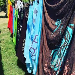 Laundry day consists of Kupu A'e #kupuaemolokai#pareo#oneofakind#wearableart#somenew#someold#lovethe