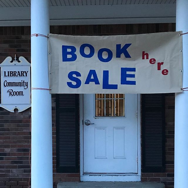 Stop by our Friends of the Library spons
