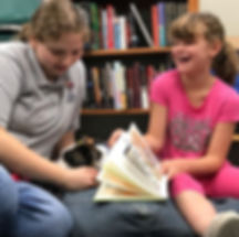 Paws for Reading Program at Wilson Community Library