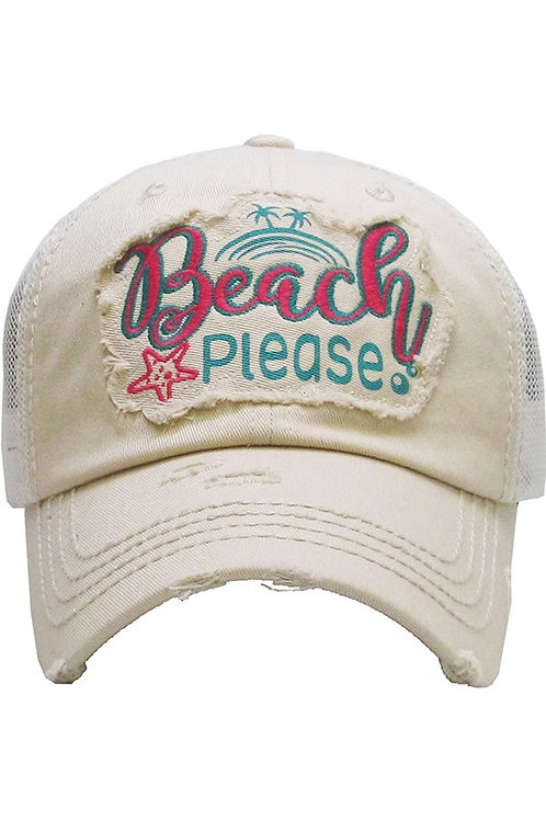 Caps Women's Hat Stop and Beach Please Many Colors