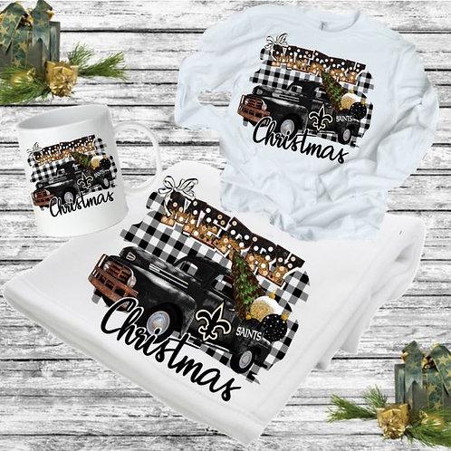 SUBLIMATED BLANKET SET-Blanket, Mug Long Sleeve Merry Christmas PRO