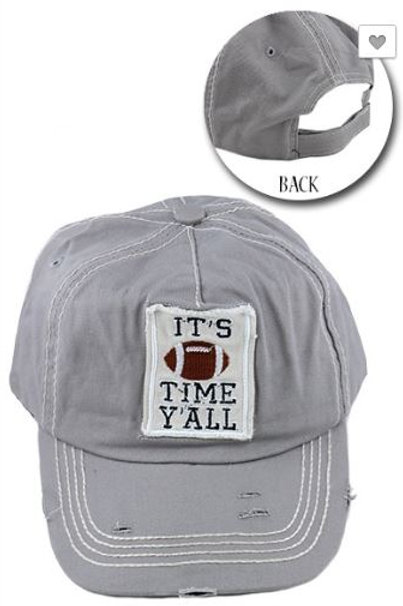 It's Football Time Y'all Caps Women's Hat