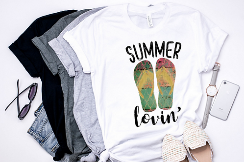 SUBLIMATED TEE Summer Lovin