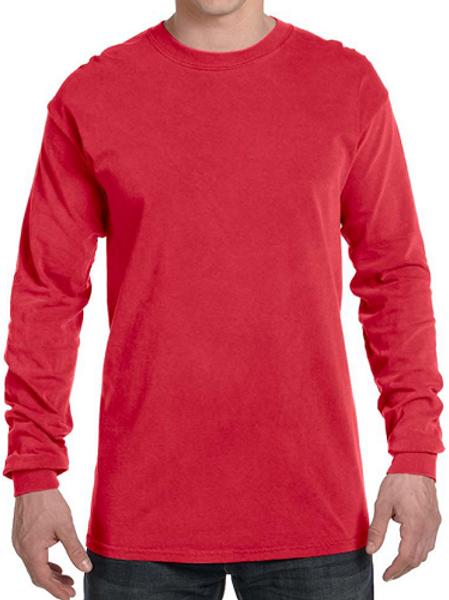 Comfort Colors Unisex Adult Long Sleeve Tee Paprika