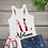 Thumbnail: Tank Top STATE INITIAL GRAPHIC SUBLIMATED SHIRT Rose Pattern