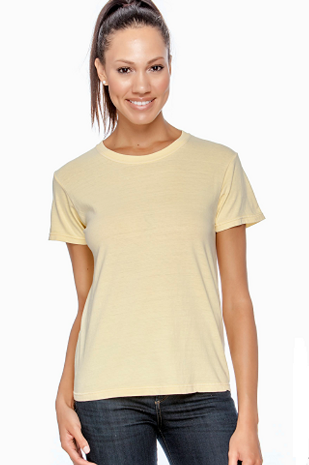 Comfort Colors Ladies Tee Butter