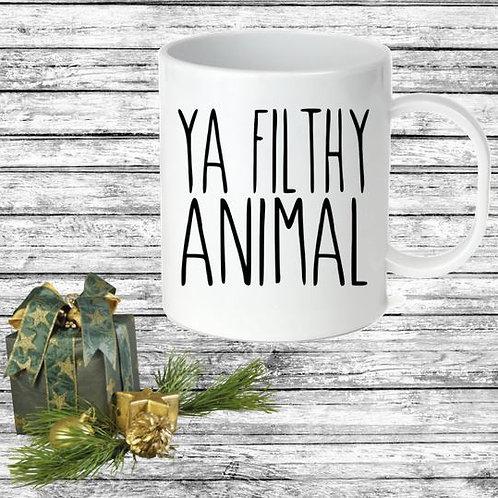 SUBLIMATED Coffee Mug - YA FILTHY ANIMAL