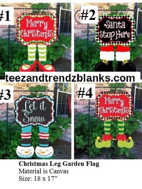 Christmas Garden Flags 4 Styles