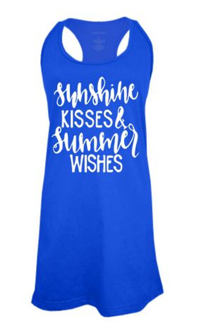 BATHING SUIT COVER UP GRAPHIC Sunshine Kisses