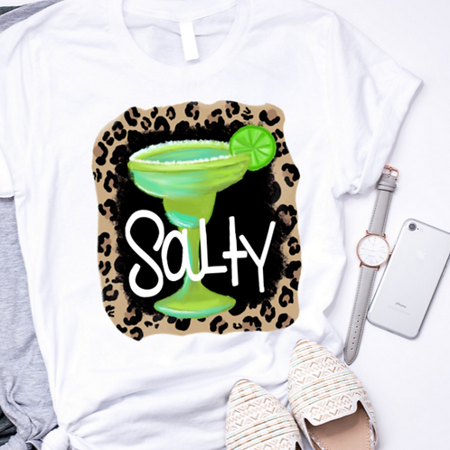 SUBLIMATED TRANSFER ONLY Salty Leopard
