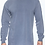 Thumbnail: Comfort Colors Unisex Adult Long Sleeve Tee Denim