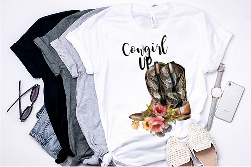 SUBLIMATED TEE Cowgirl Up
