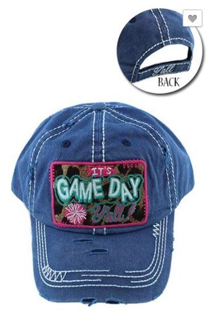 Game Day Caps Women's Hat