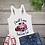Thumbnail: Tank Top GRAPHIC SUBLIMATED SHIRT Small Town American Girl