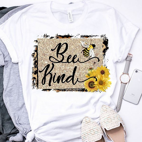 SUBLIMATED TEE Short or Long Sleeve Be Kind