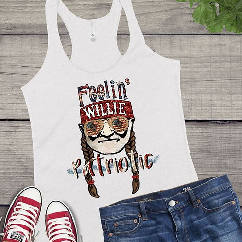 Tank Top GRAPHIC SHIRT Willie Feelin Patriotic