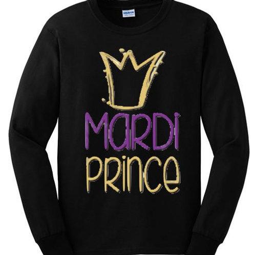 LONG SLEEVE MARDI GRAS SHIRT Mardi Prince