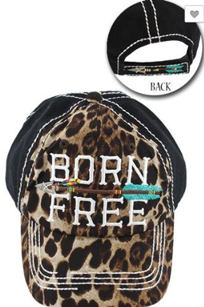Born Free Caps Women's Hat
