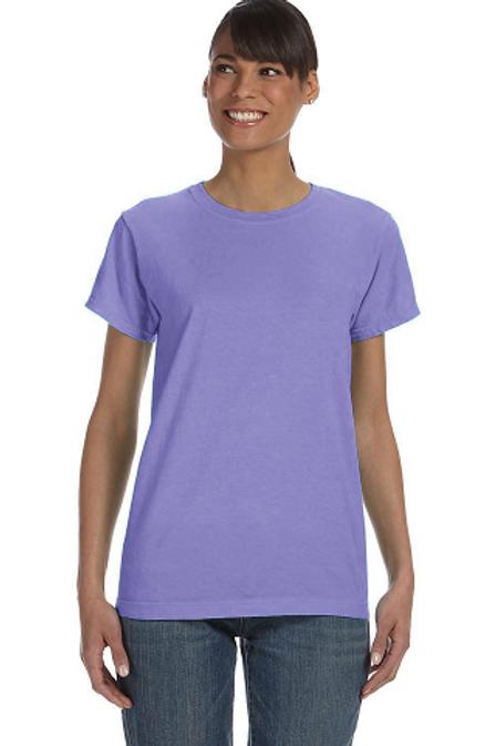 Comfort Colors Ladies Tee Violet