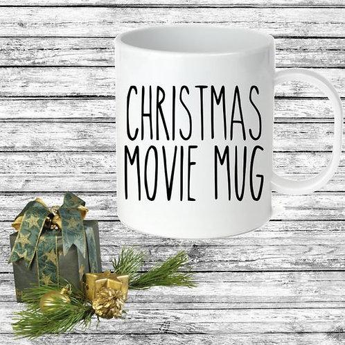 SUBLIMATED Coffee Mug - CHRISTMAS MOVIE MUG