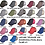Thumbnail: Sublimated Trucker Hats Many Colors XOXO