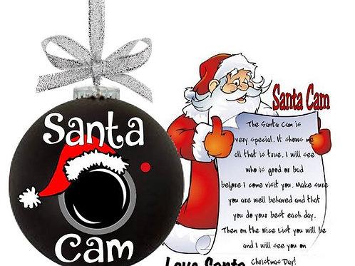 Christmas Santa Cam with Santa Letter