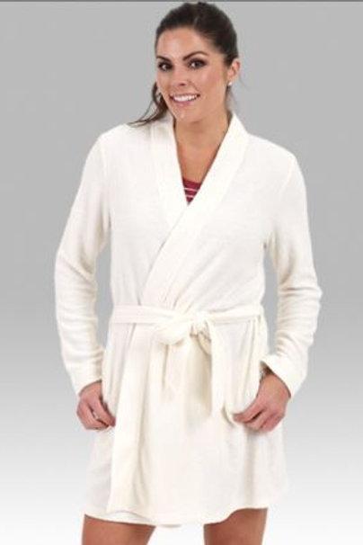 Boxercraft Cozy Robe Women Sizes XS - 2XL White or Grey