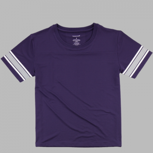 Boxercraft Game Time Shirt Adult or Youth Purple