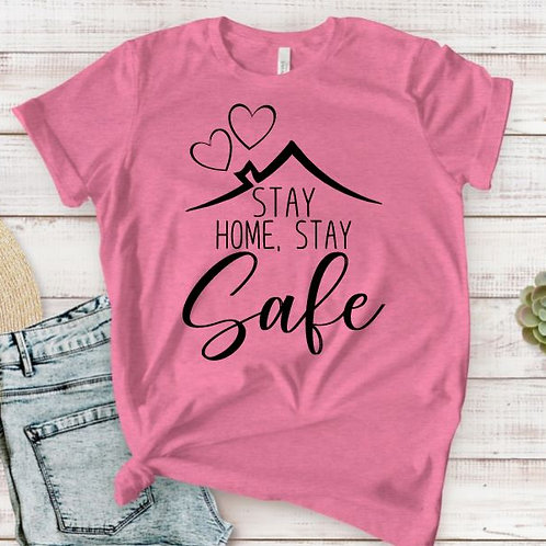 TEE Short Sleeve Be Safe MANY COLORS AVAILABLE