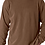 Thumbnail: Comfort Colors Unisex Adult Long Sleeve Tee Brown