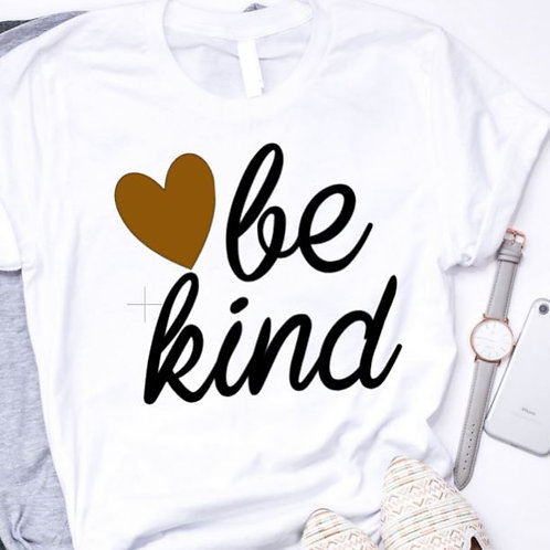 SUBLIMATED TEE Short Sleeve or Tank Be Kind Heart