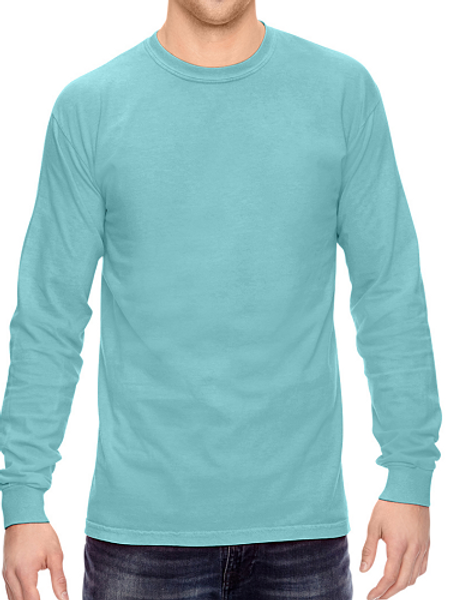 Comfort Colors Unisex Adult Long Sleeve Tee Chalky Mint