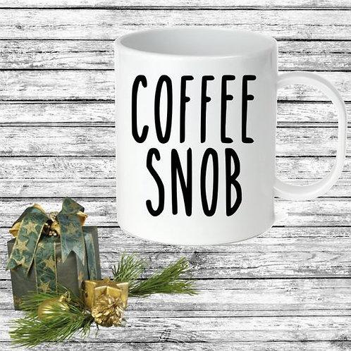 SUBLIMATED Coffee Mug - COFFEE SNOB