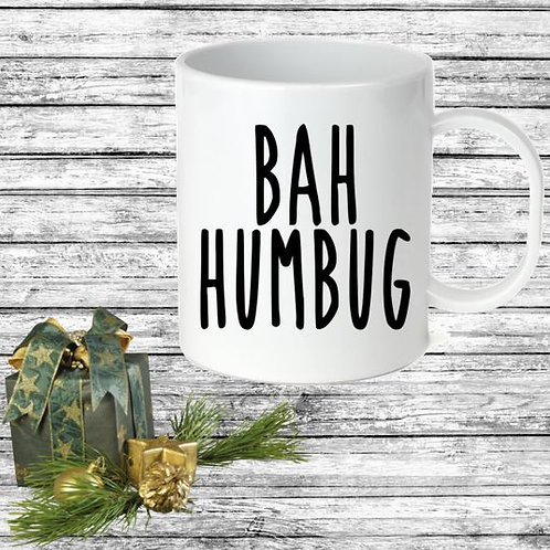 SUBLIMATED Coffee Mug - BAH HUMBUG