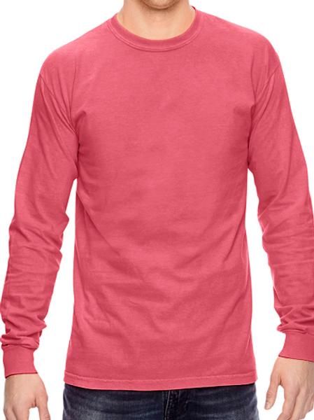 Comfort Colors Unisex Adult Long Sleeve Tee Watermelon