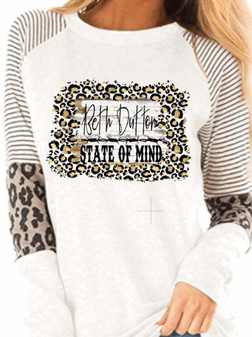 SUBLIMATED Leopard Long Sleeve Beth Dutton State of Mind