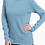 Thumbnail: Comfort Colors Unisex Adult Long Sleeve Tee Ice Blue
