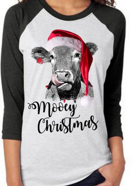 SUBLIMATED TEE Mooey Christmas