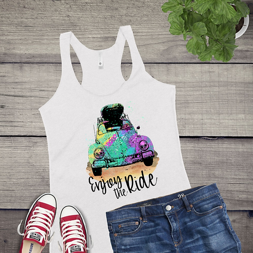 Tank Top GRAPHIC SUBLIMATED SHIRT Enjoy the Ride