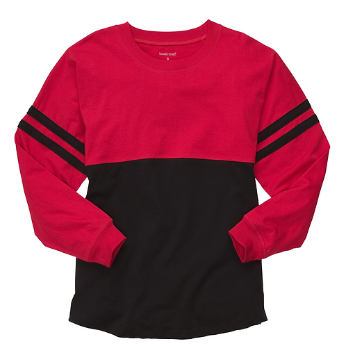 Boxercraft Pom Pom Jersey Adult or Youth Red/Black