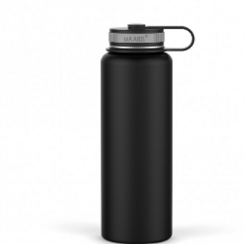 The Eddy 40 oz Double Wall Stainless Steel Tumbler Black