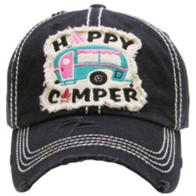 Happy Camper Caps Women's Hat