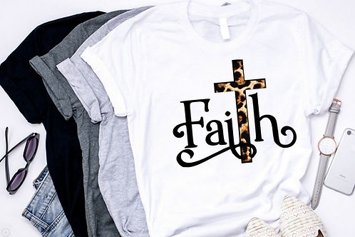 SUBLIMATED TRANSFER ONLY Faith Leopard