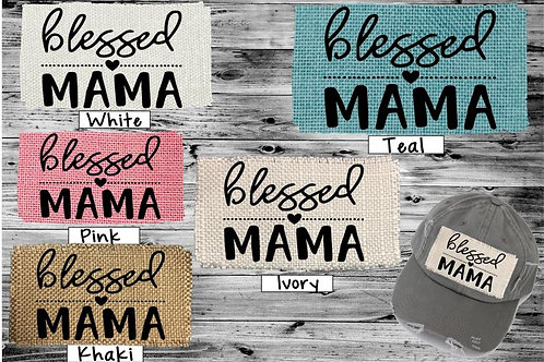 Sublimated Trucker Hats Many Colors Blessed Mama