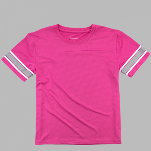 Boxercraft Game Time Shirt Adult or Youth Hot Pink